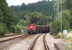 Wurzbach, ein Spitzkehrenbahnhof im Thüringer Schiefergebirge III