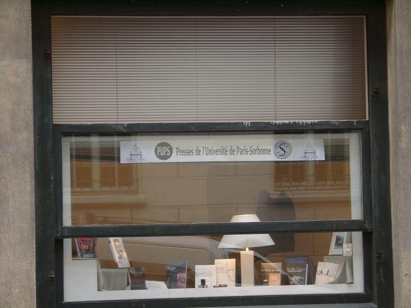 Wusstet Ihr schon, wie die Druckerei der altehrwürdigen Sorbonnne Universität in Paris heisst?