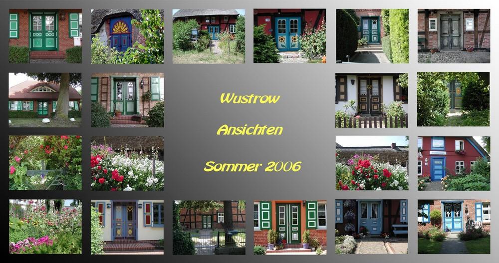 Wustrow - Ansichten - von Haustür zu Haustür
