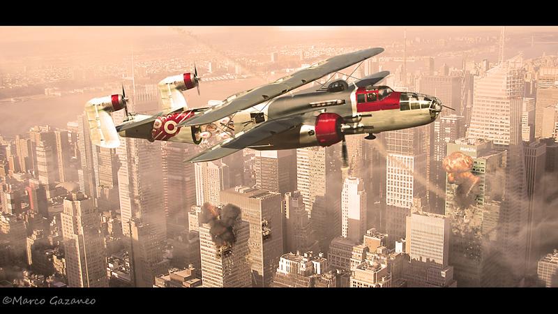 X B-25