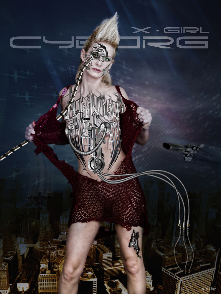 """ X - Girl Cyborg """