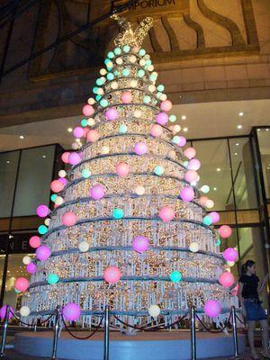 X-mas tree in Bangkok