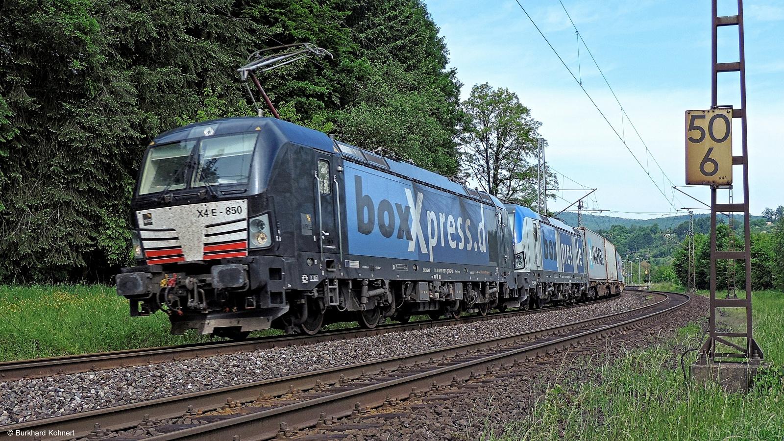 X4 E-850 boxXpress und ? boxXpress