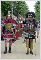 Xanten - römerfest 2014 - Festzug der Römer und Gladiatoren zur Arena
