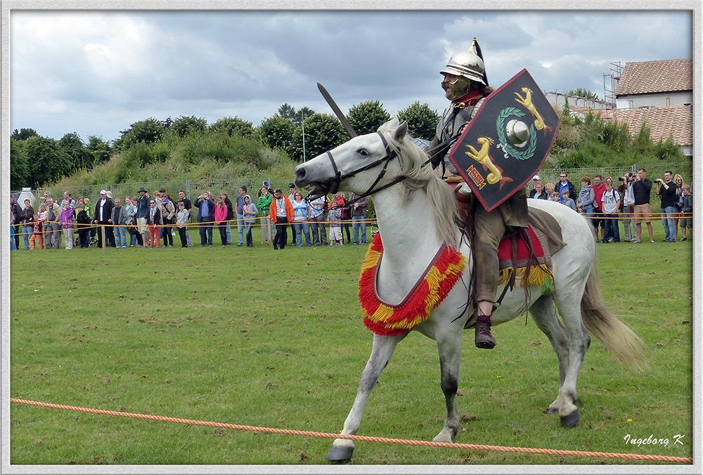 Xanten - Römerfest 2014 - Pferdewettikampfspiele - 2