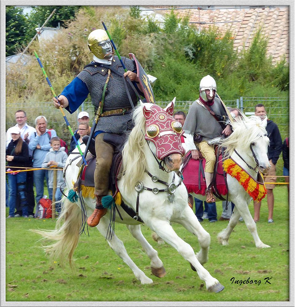 Xanten - Römerfest 2014 - Pferdewettkampfspiele - 3