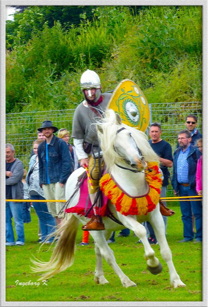 Xanten - Römerfest 2014 - Pferdewettkampfspiele
