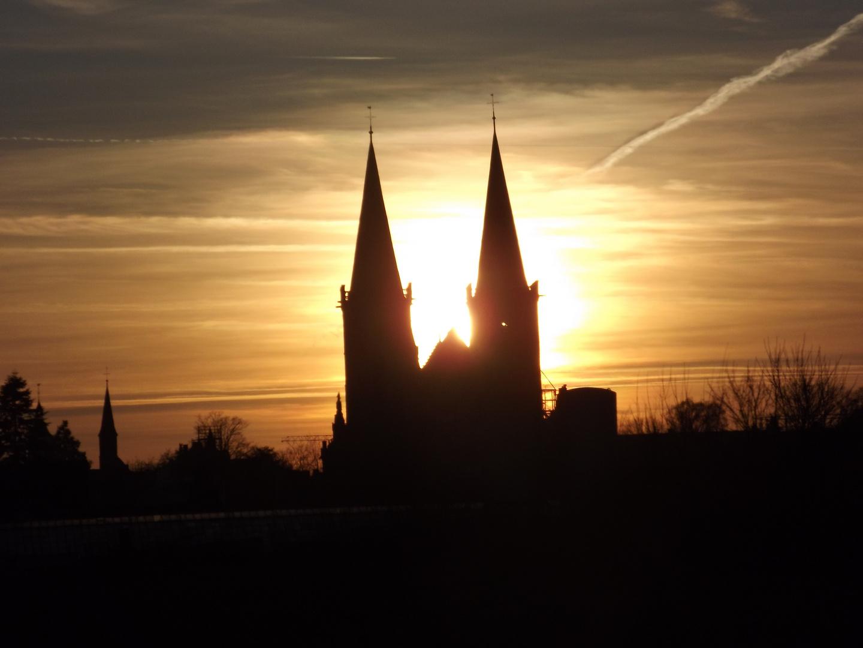 Xantener Dom in der Sonne