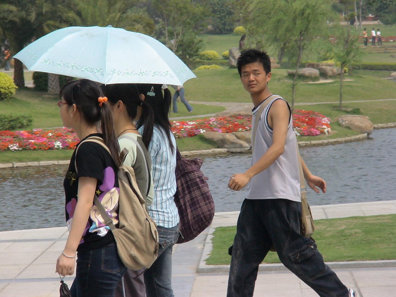 Xiamen Junge Menschen