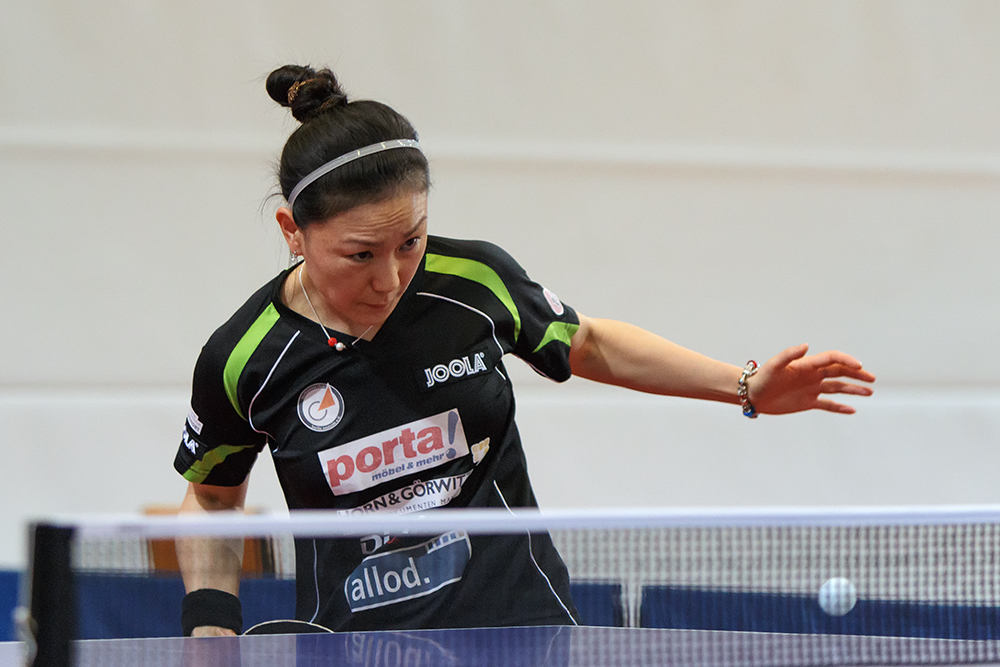 Xiaona Shan - Siegerin der German Open 2014