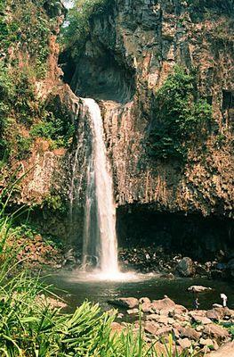 Xico - Ein Wasserfall in der Umgebung von Xalapa