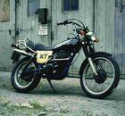 XT 500 .... kick on
