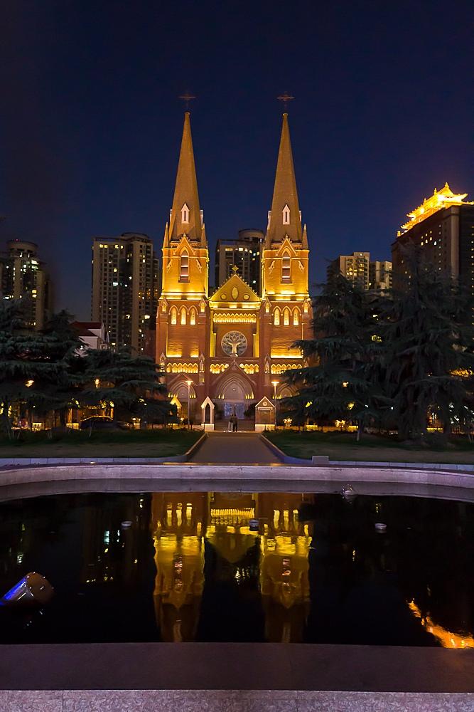Xujiahui-Kathedrale in Shanghai