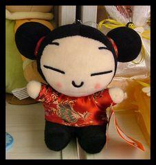 Xun-Lin...bambola in vetrina.