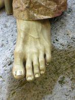 XXL, die Länge der Zehen ist im Foto nicht so recht zu erkennen