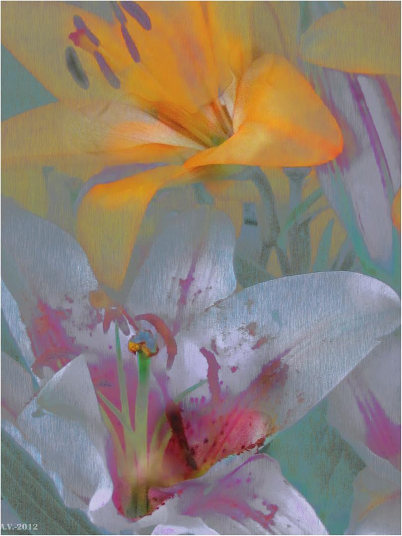 Y soñó la flor ser pájaro...(Lilium 3)