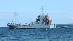Y1643 Bottsand -Ölauffangschiff-