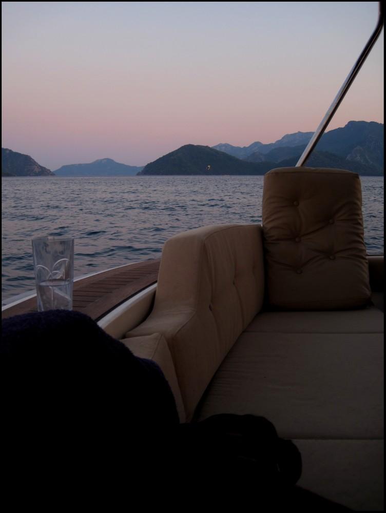 Yacht in der Türkei