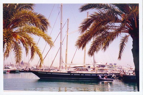 Yacht in Mallorca