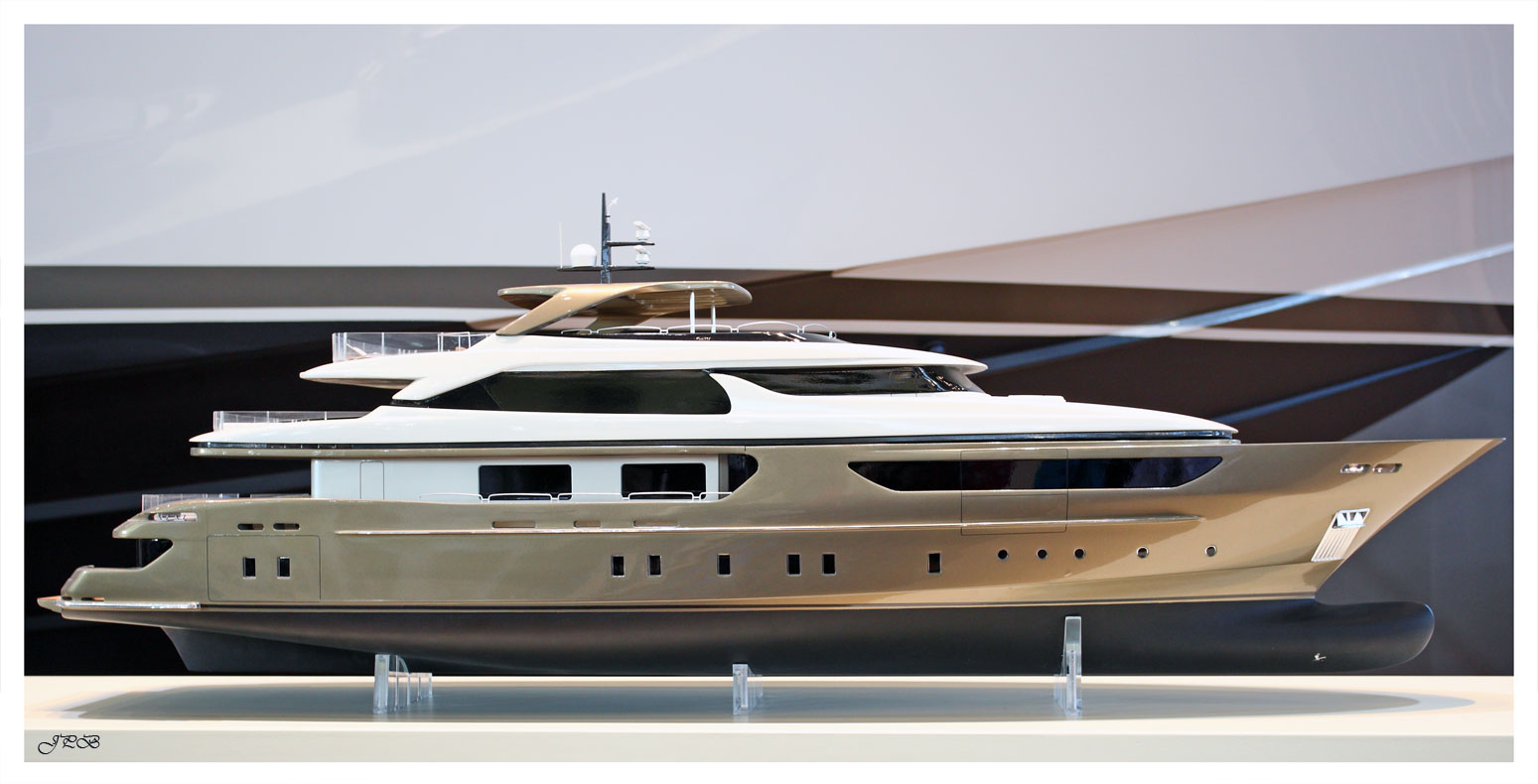 Yacht-Modell San Lorenzo