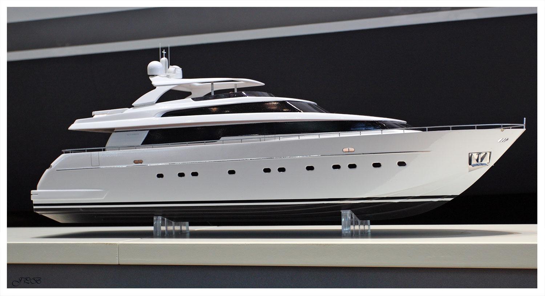 Yacht-Modell San Lorenzo II