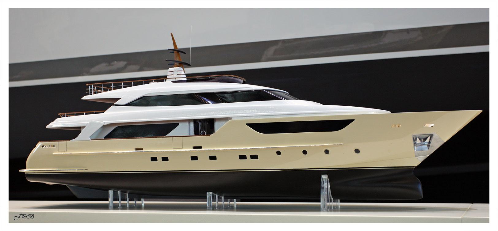 Yacht-Modell San Lorenzo III