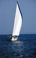 Yacht vor Korsika