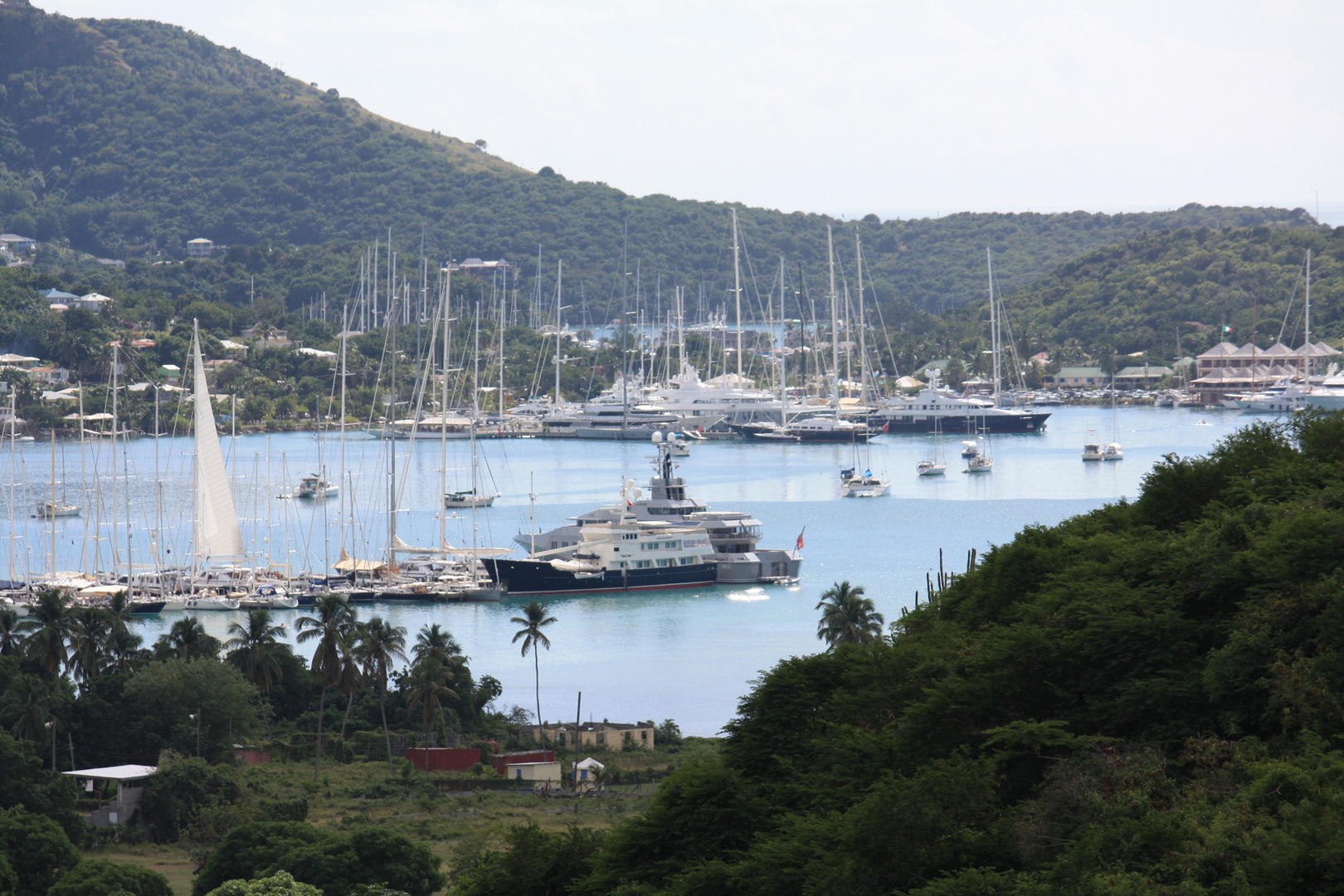 Yachthafen in Antigua