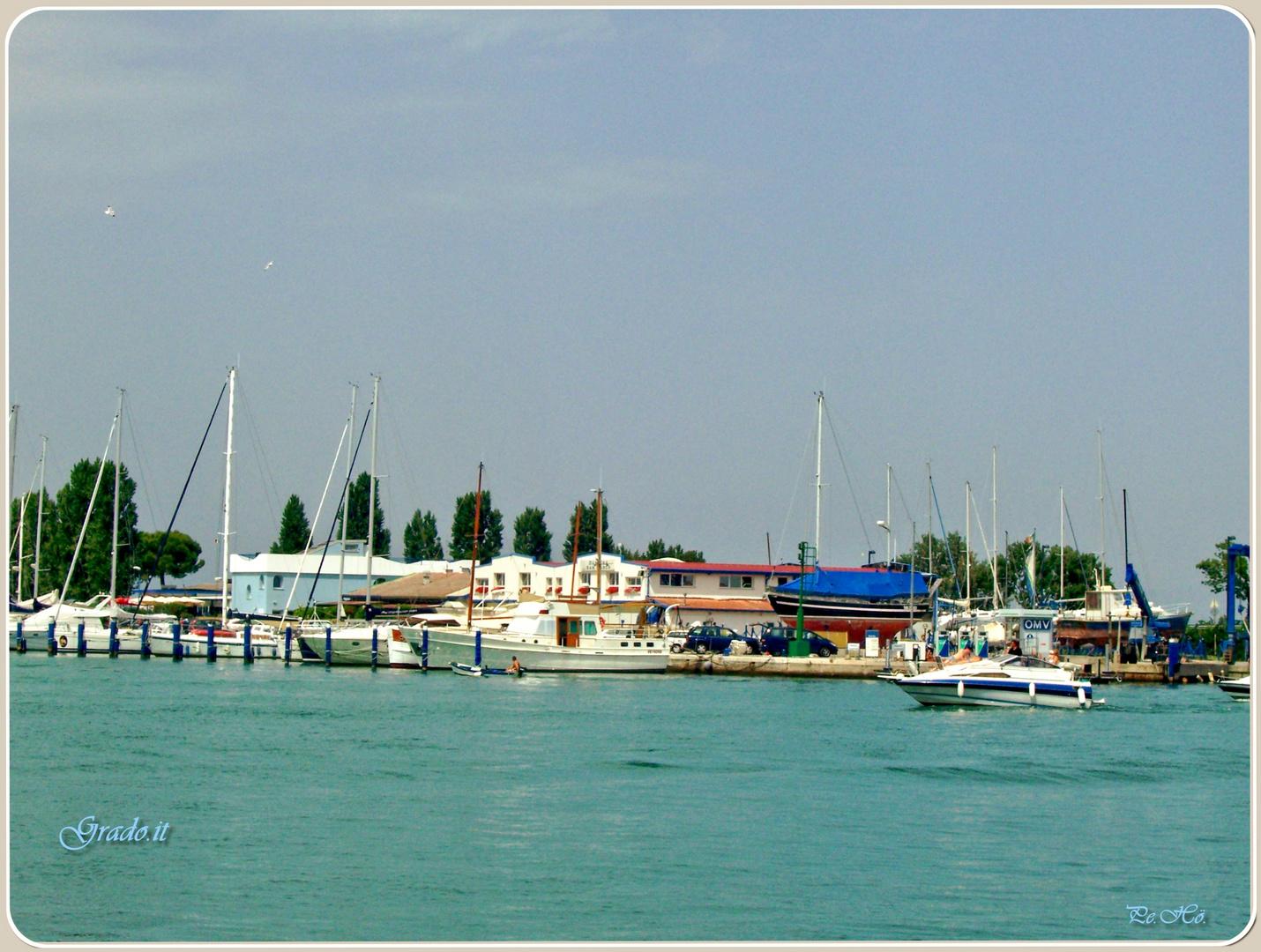 Yachthafen in Grado