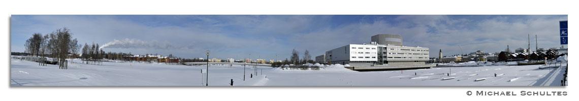 Yachthafen in Oulu