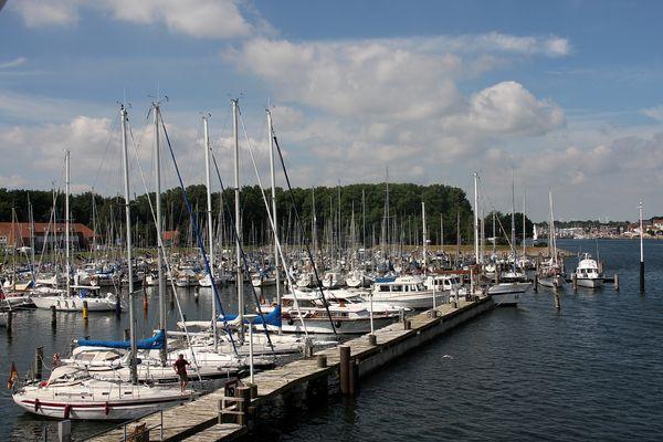 Yachthafen in Travemünde
