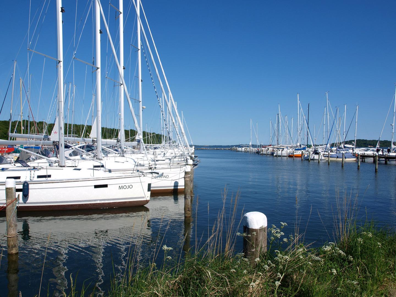 Yachthafenidylle