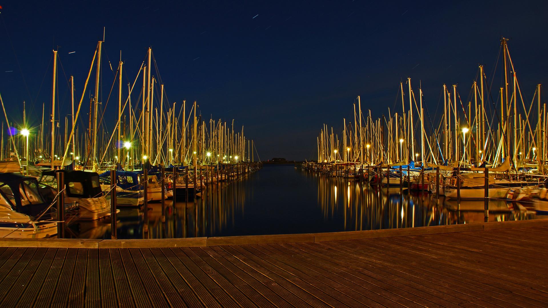Yachtsporthafen in Heiligenhafen