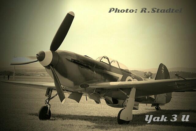 Yak 3 U bei der Airshow in Coburg 2013
