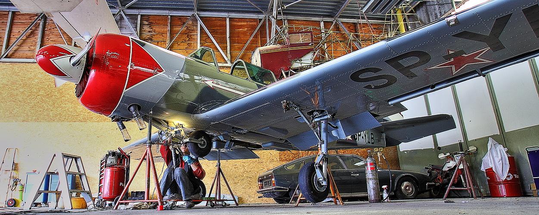 YAK 52 -  SP-YLB - beim Service