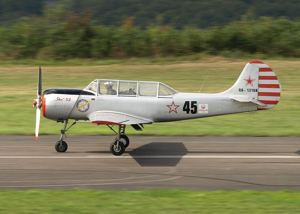 Yak Landeanflug II (JJ)