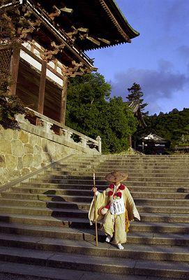 Yamabushi - japanischer Bergmönch