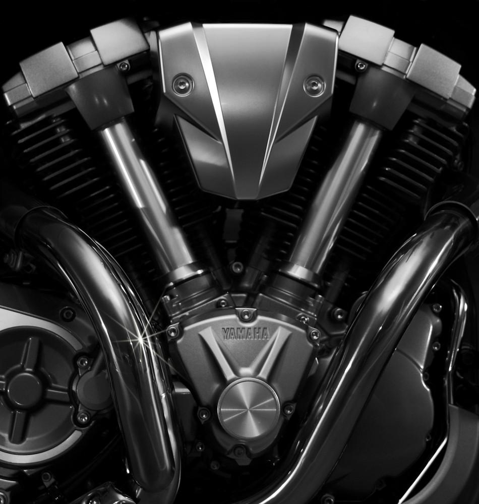 Yamaha MT-01 Aggregat