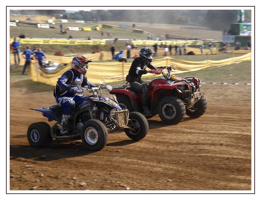 YAMAHA Sport Quad vs. YAMAHA ATV Grizzly Quad