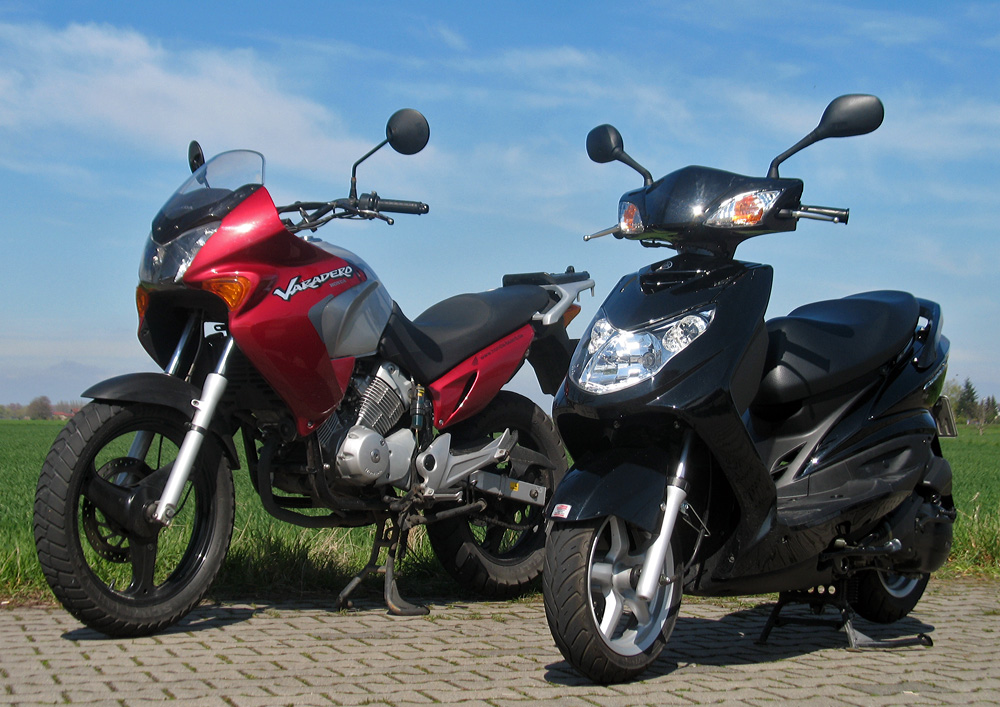 Yamaha und Honda...passen wunderbar ;)