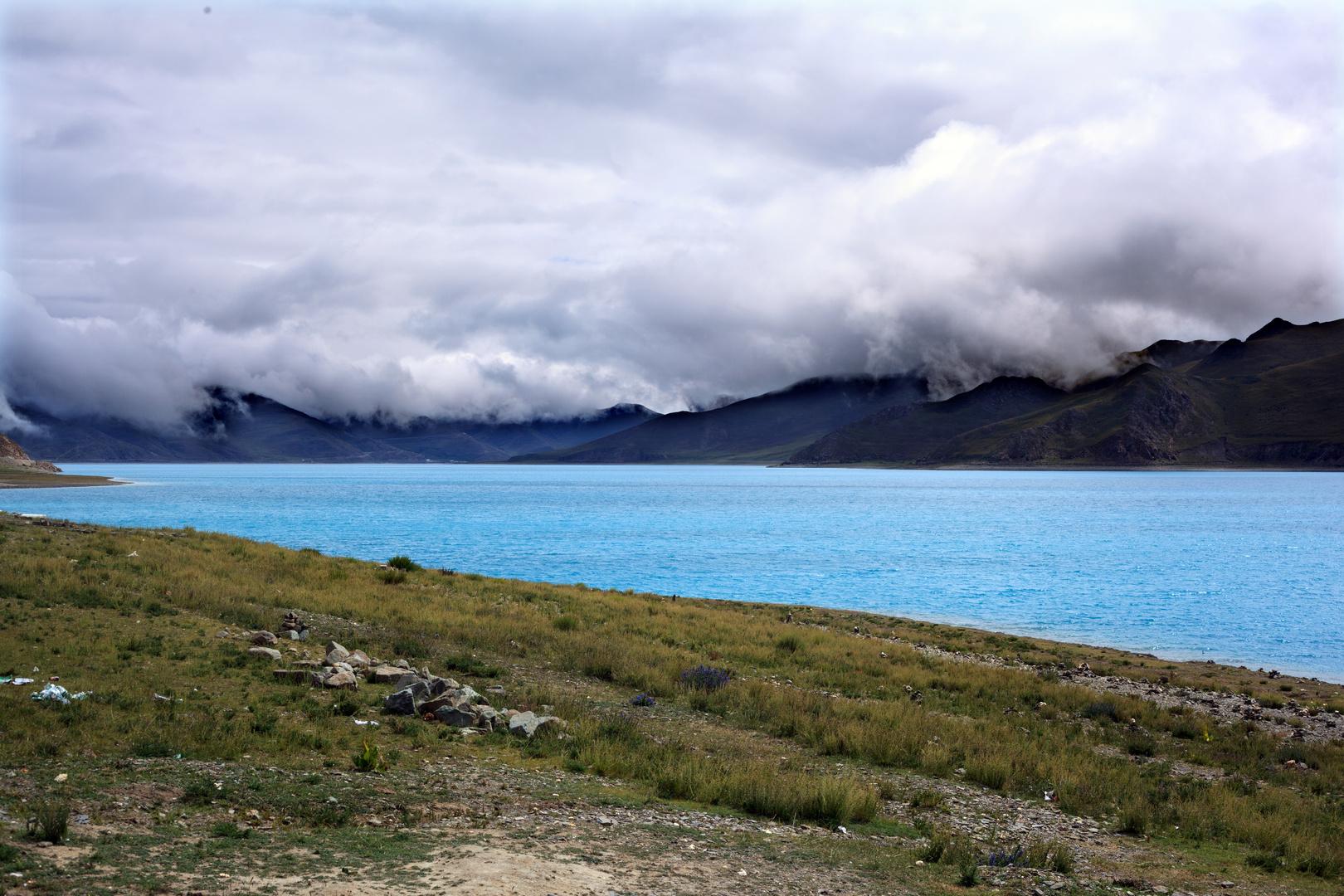 Yamzhog Yumco westlich von Lhasa