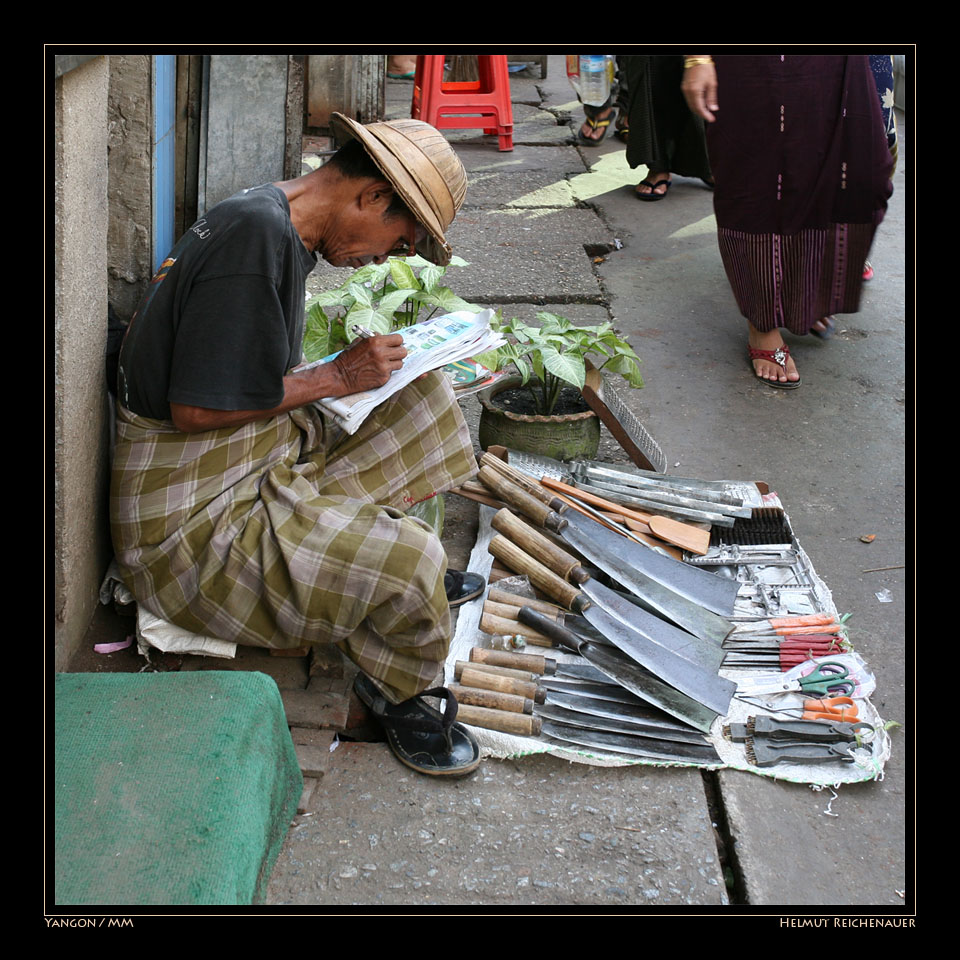 Yangon Street Market VI, Yangon / MM