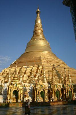 Yangoons Schönheit im Tageslicht