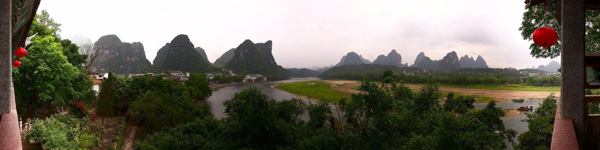 Yangshuo am Li Fluss