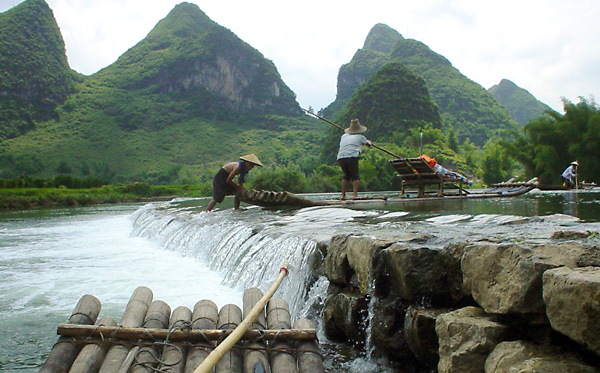 YangShuo, am Yulong Fluss