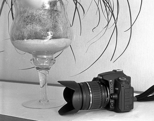 Yashica mat124 G vs Nikon D90