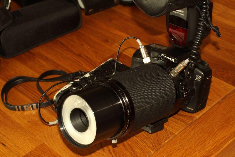 Yashica Medical 100DX an der Canon DSLR