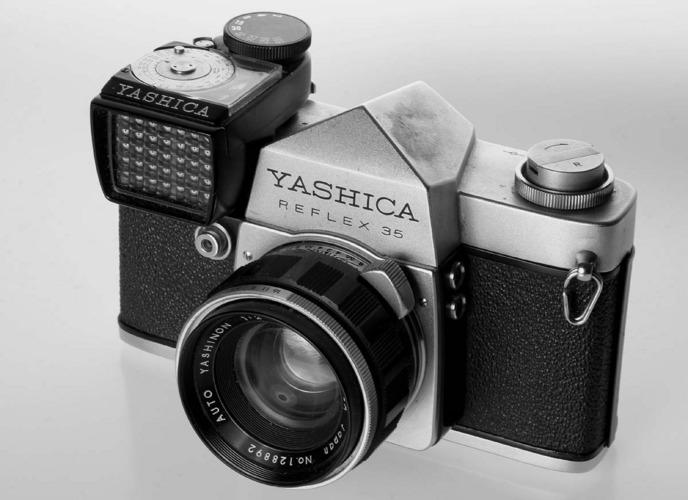 Yashica Reflex 35 externer Belichtungsmesser