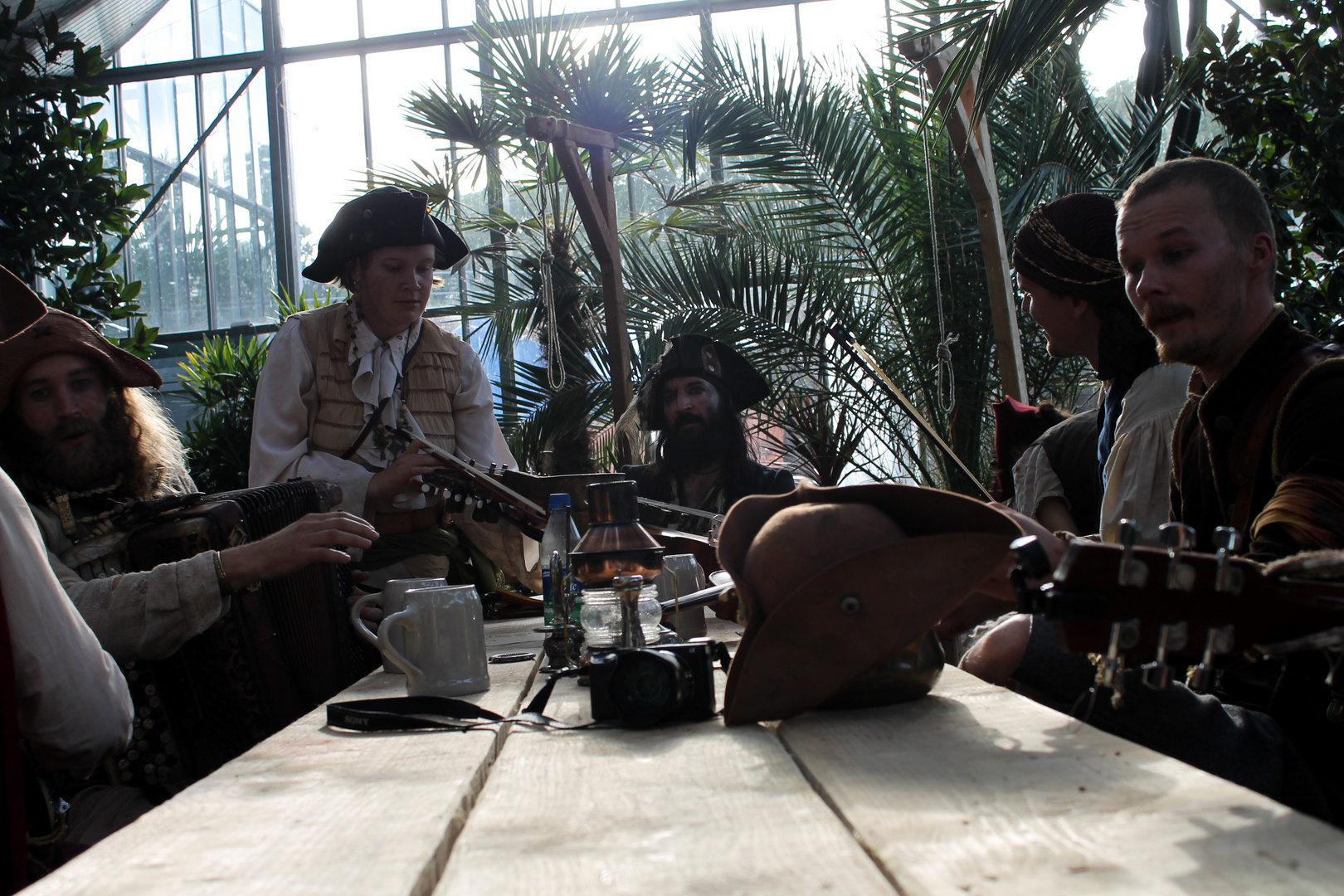 Ye Banished Privateers. Schwedische Piraten Band
