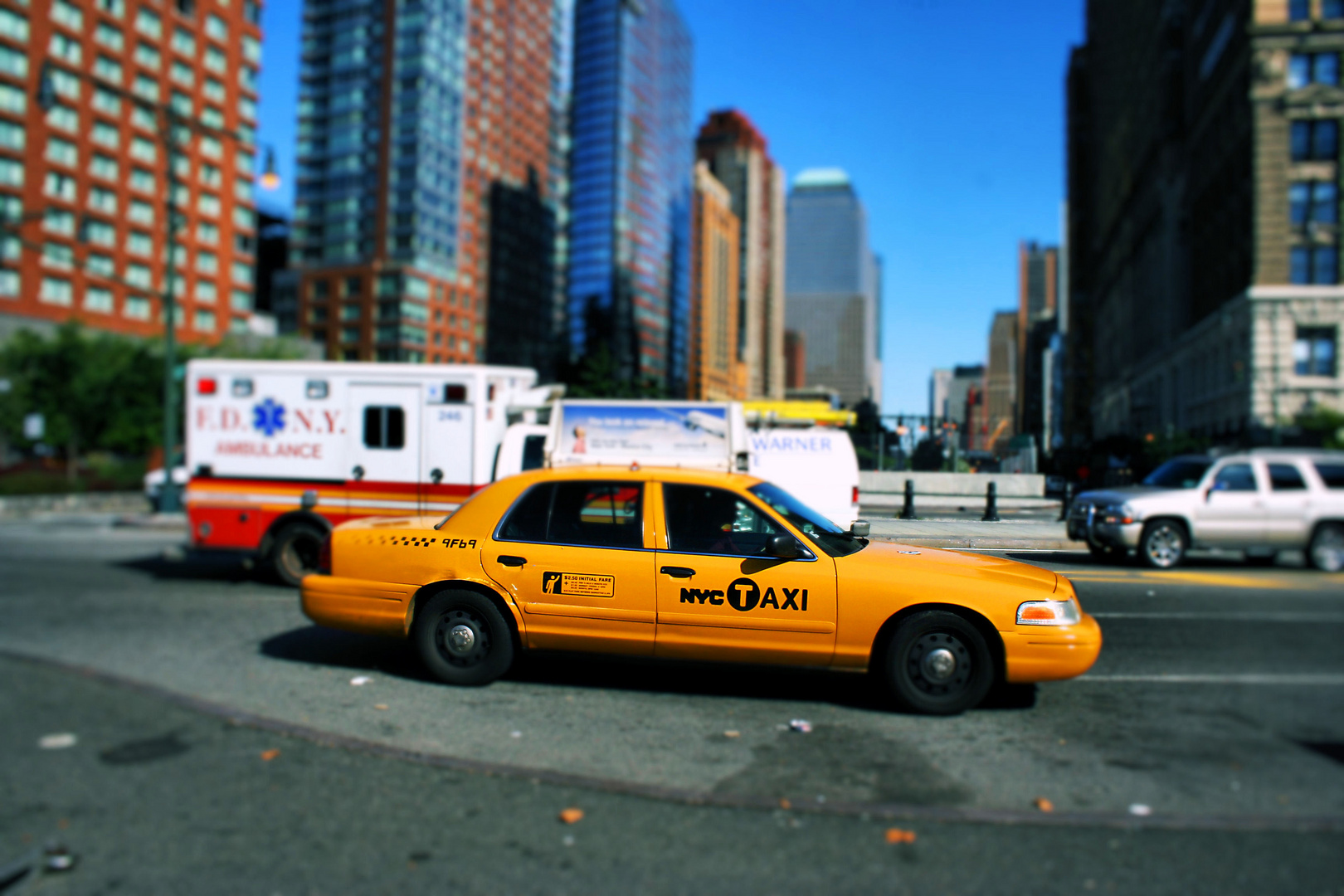 Yellow Cab NYC Klassiker